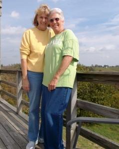 Theresa and Pat