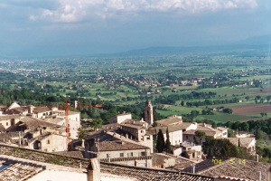 Assisi hilltop view