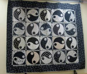 Yin Yang quilt to be raffled off in August