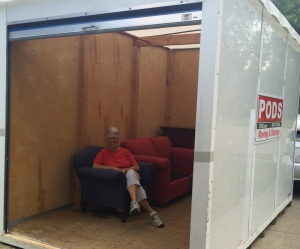 """Pat's Pod: """"Mom is almost completely settled into her new space."""""""