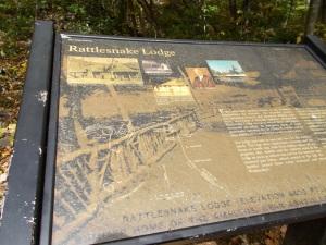 Rattlesnake Lodge marker
