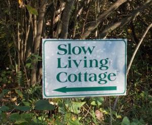 Slow Living Cottage 1 sign 047_b